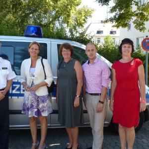 . Bommer, Nancy Faeser MdL, Sabine Waschke MdL, Pascal Barthel, Birgit Kömpel